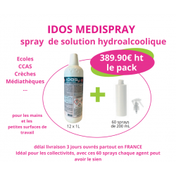 pack spray hydrolalcoolique