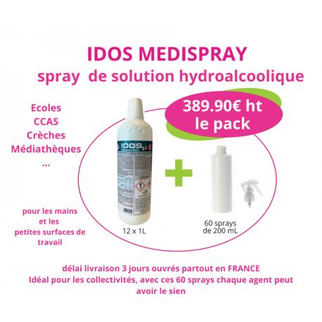 pack spray hydrolalcoolique