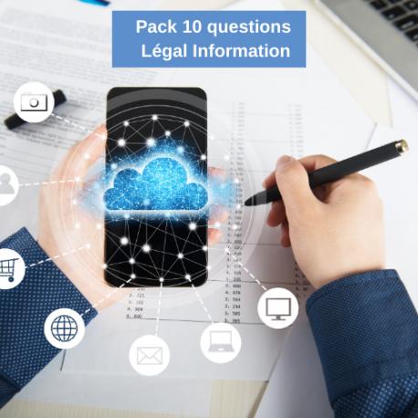 Pack de questions LEGALinformation