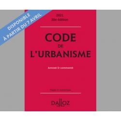 Code de l'urbanisme 2021